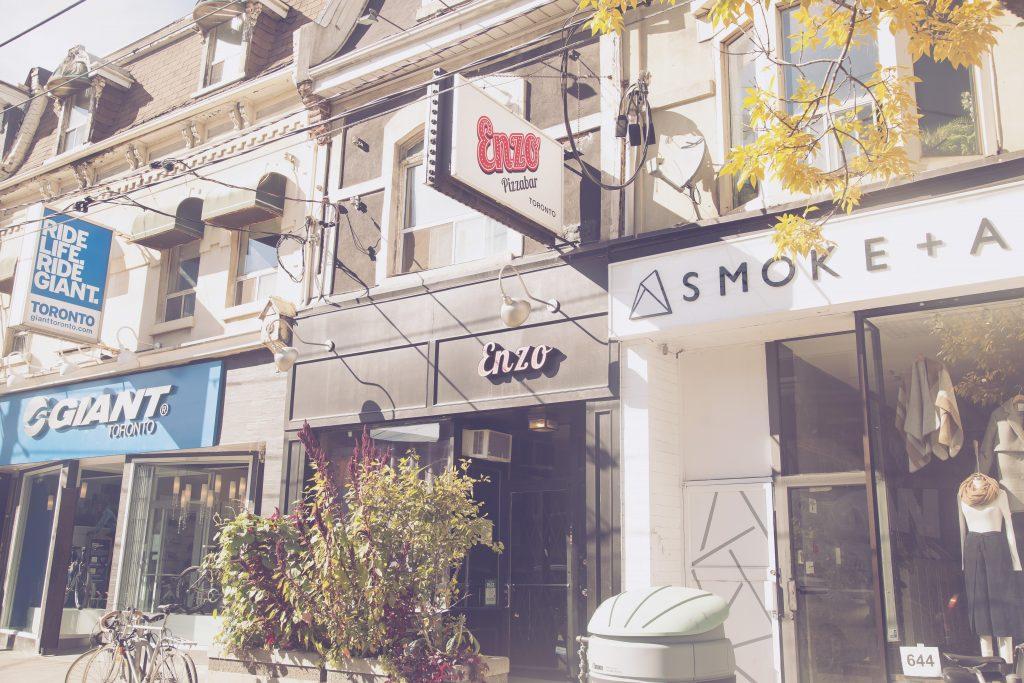 Shops in Queen St. West, Toronto