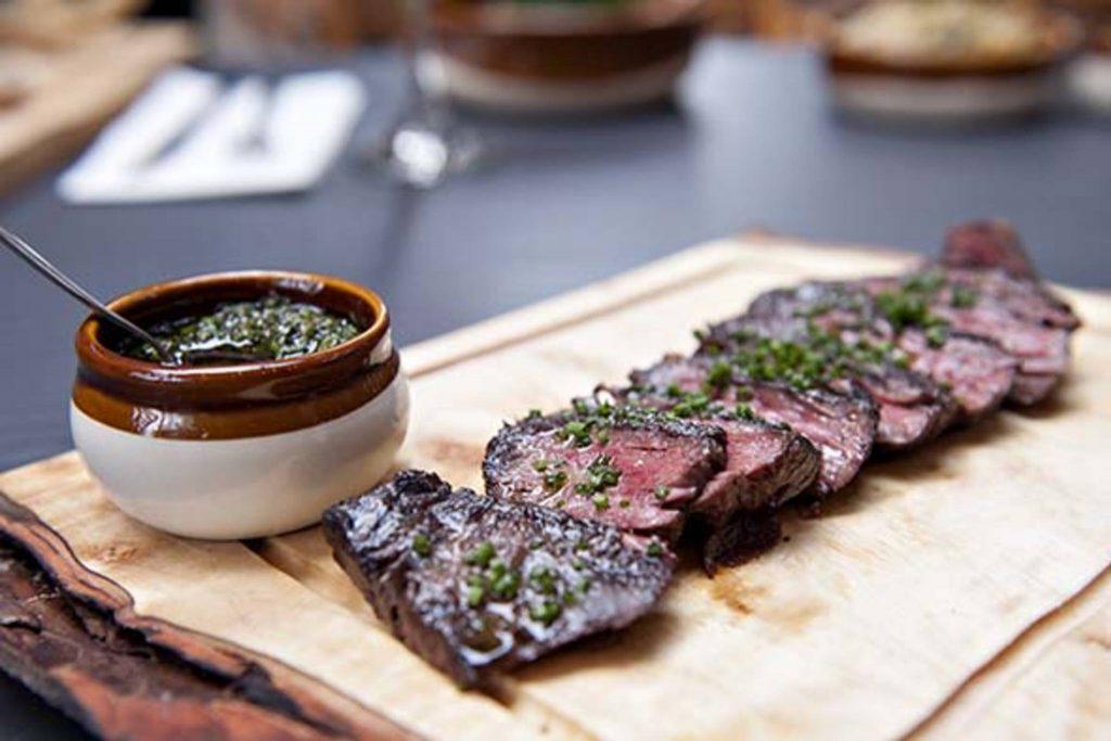 roast beef sliced from branca