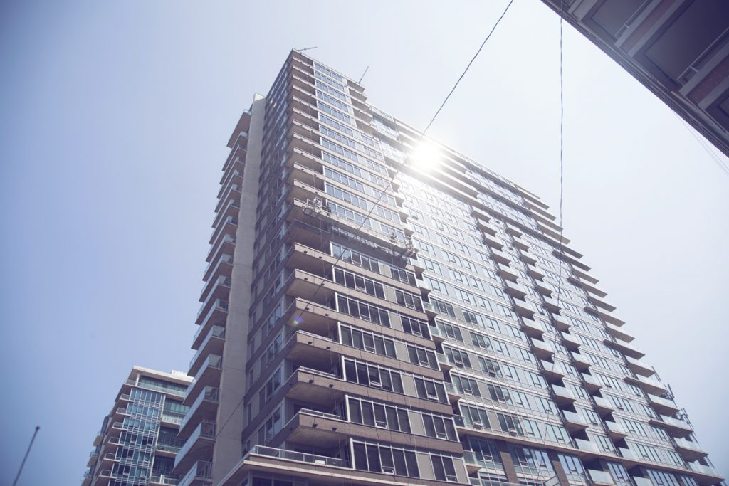 residential building in liberty village