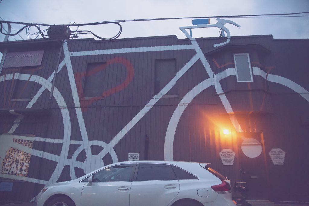 Bike shop in leslieville, toronto