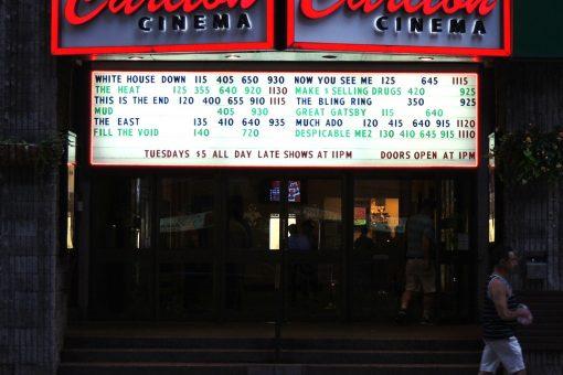 Carlton Cinema near College Station in Toronto