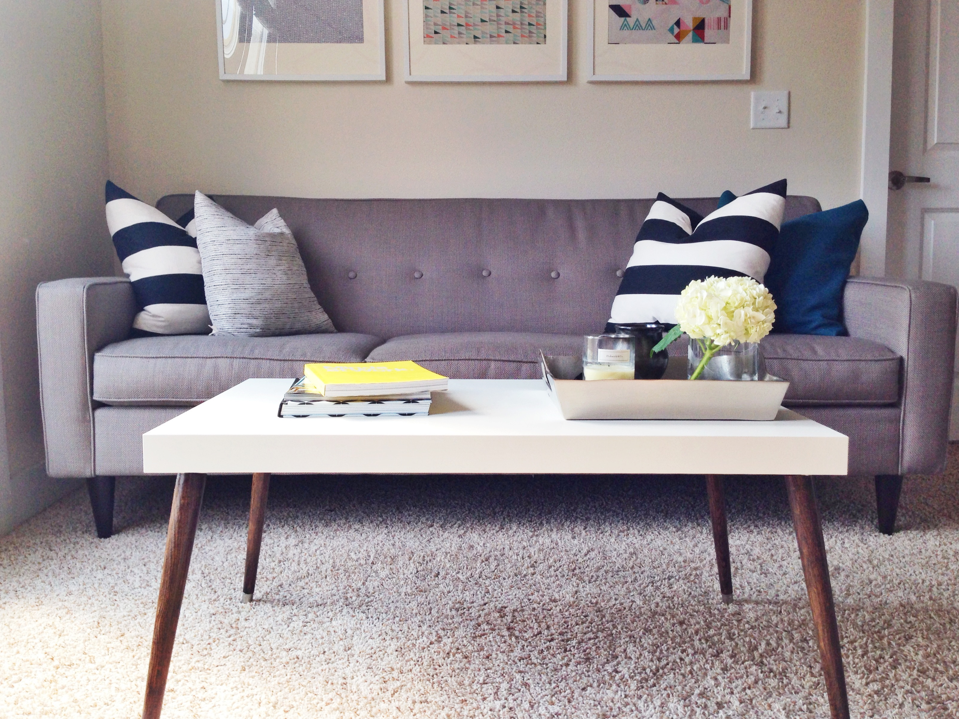 Coffee Table Ikea.Awesome Ikea Hack Of The Week A 60 Sleek Midcentury Coffee Table