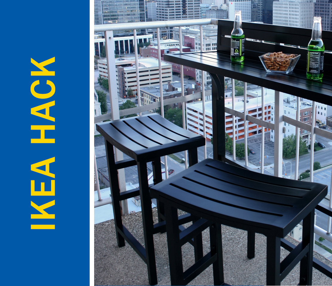 Awesome Ikea Hack Of The Week Skip The Patio Table Make