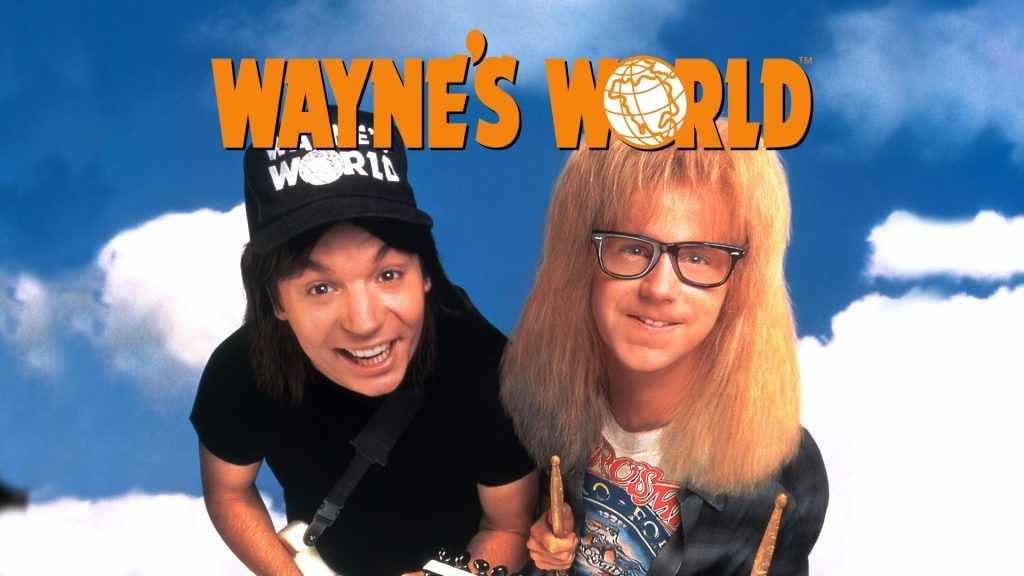 cover of wayne's world