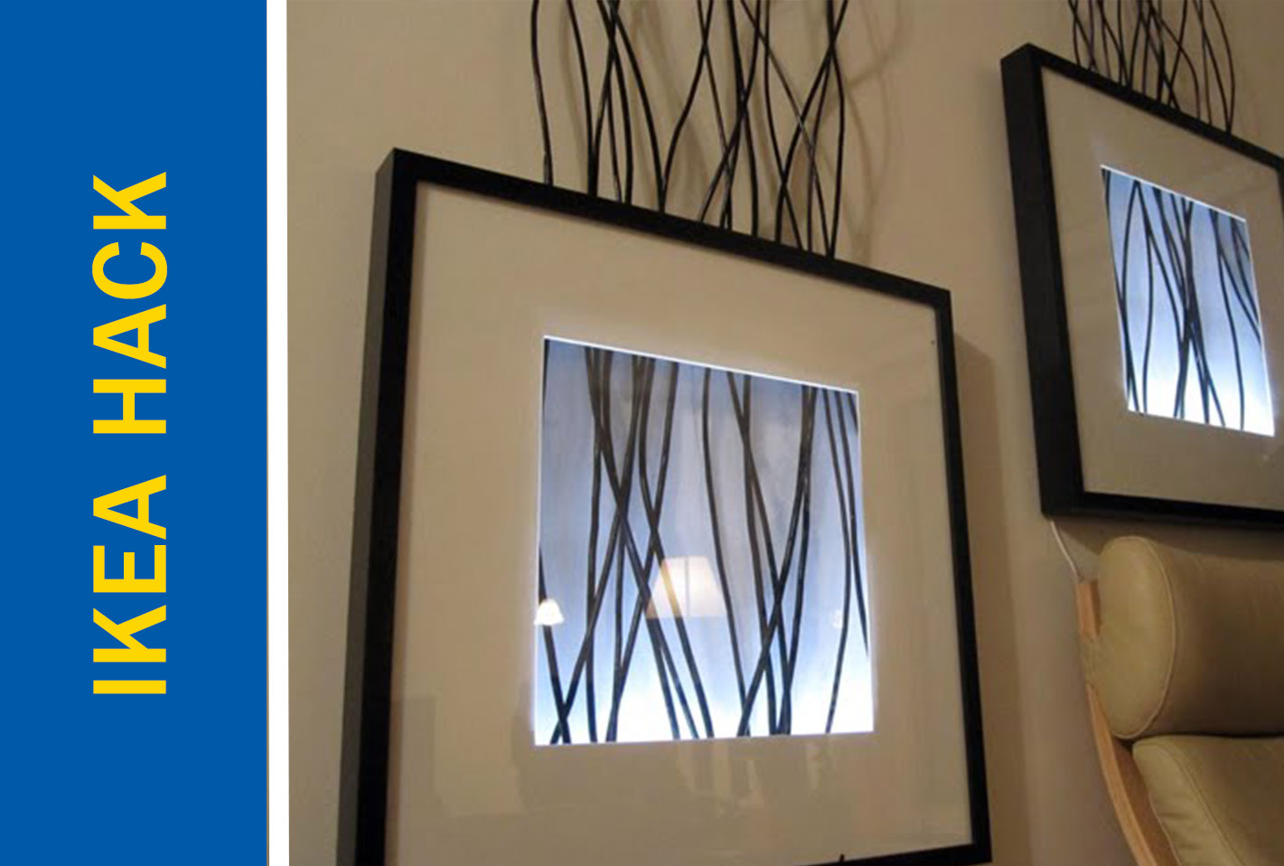 Awesome Ikea Hack of the Week: Backlit Picture Frame