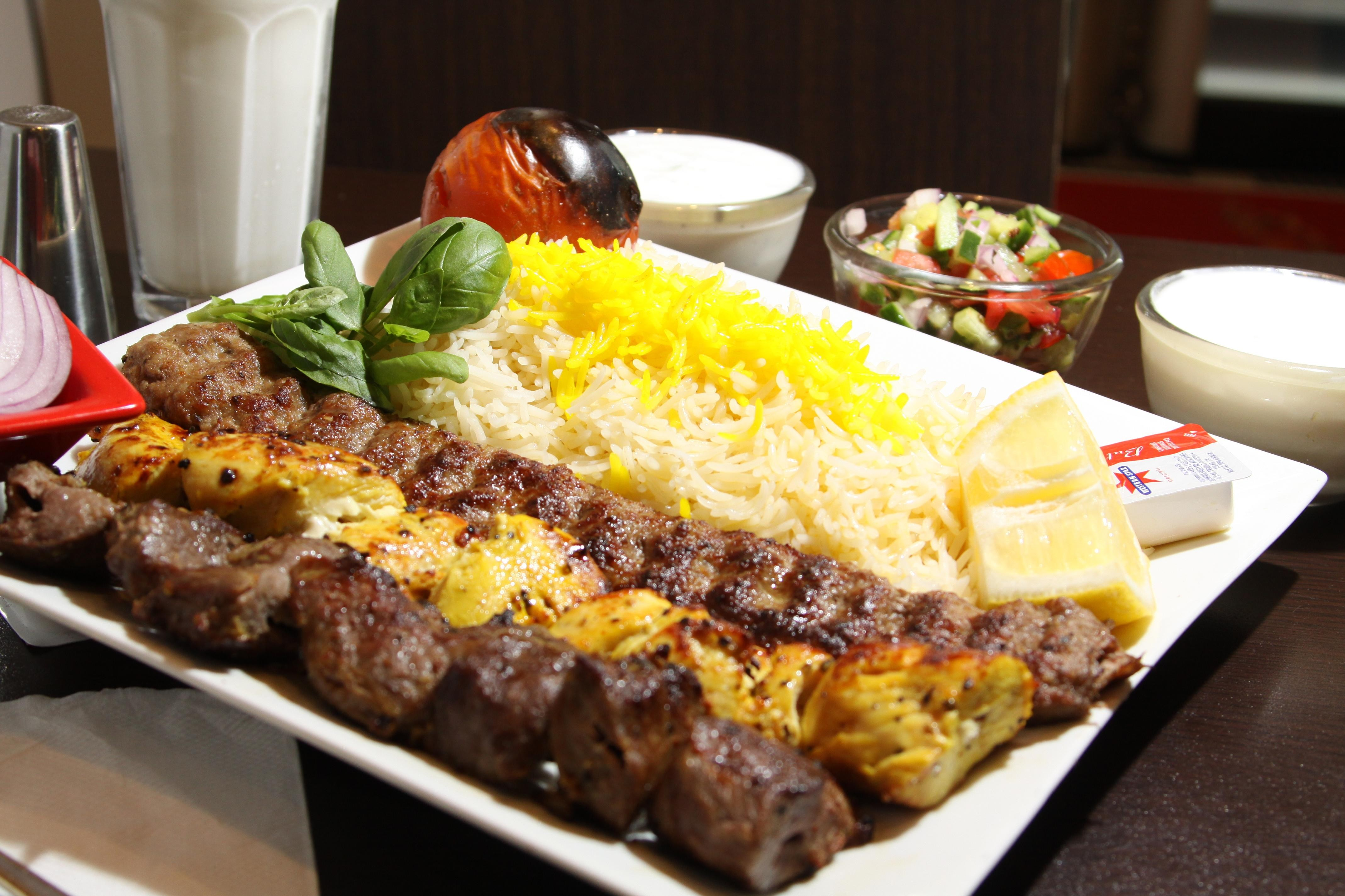 The best persian and middle eastern restaurants in toronto for A treasury of persian cuisine