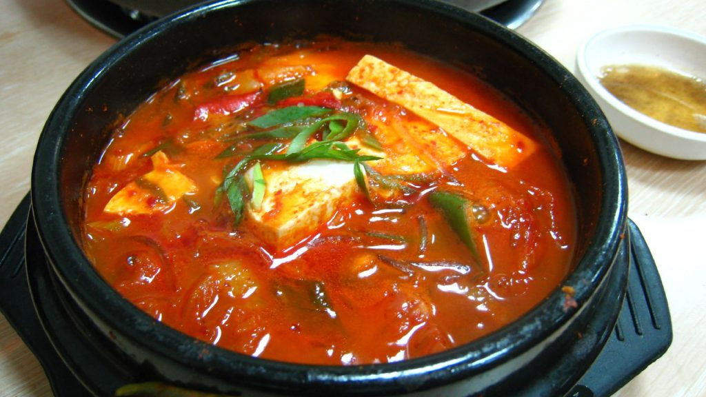 korean stew spicy