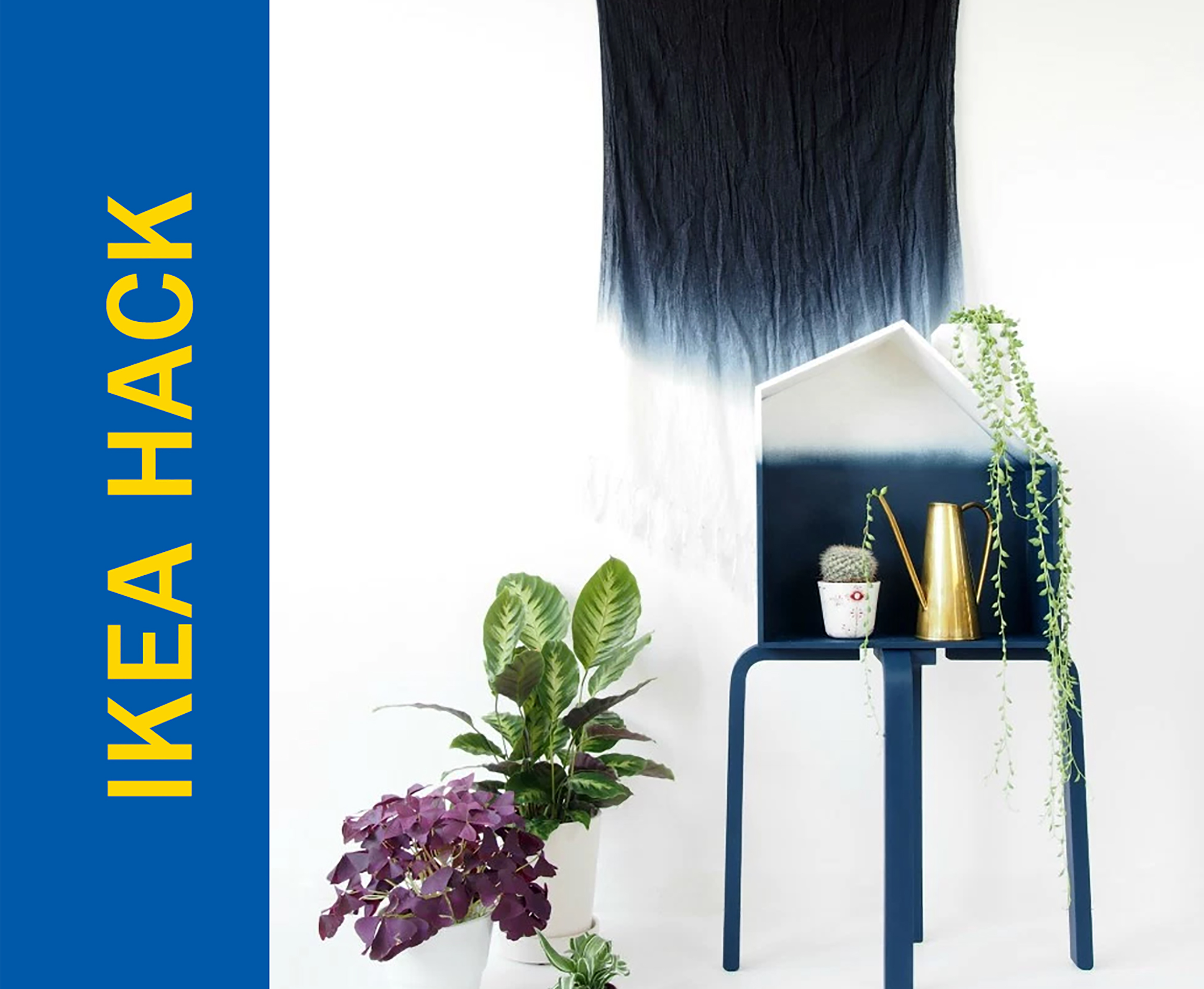 Awesome Ikea Hack of the Week: How to ombre stuff to make it look cool