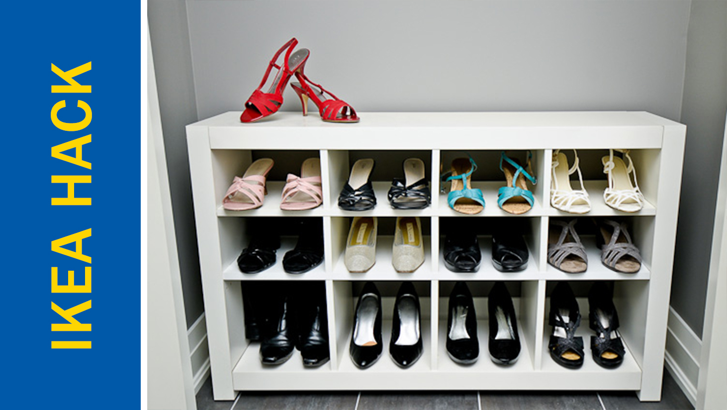 Awesome Ikea Hack of the Week: Amp up your shoe storage game