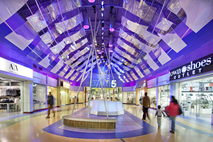 inside view of vaughan mills mall